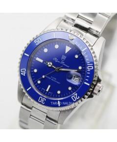 นาฬิกาข้อมือ Olym Pianus sapphire submariner 899831M-616 ขอบเซรามิคสีฟ้า