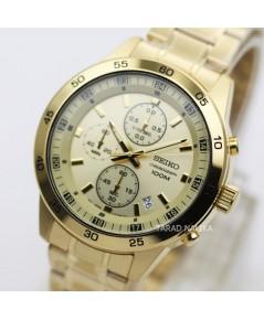 นาฬิกา SEIKO sport chronograph SKS646P1 เรือนทอง