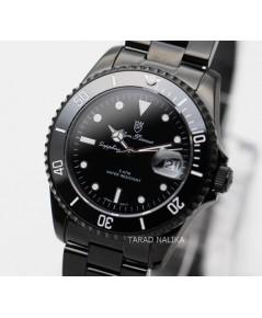 นาฬิกา Olym pianus submariner 899831M-616 ขอบเซรามิค black ip