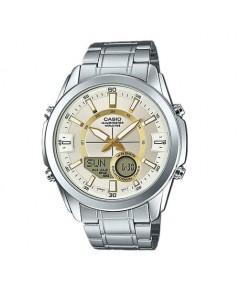 นาฬิกา CASIO  2 ระบบ รุ่น AMW-810D-9AVDF (ประกัน cmg)