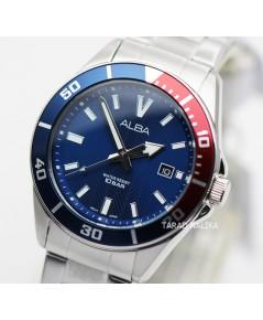 นาฬิกา ALBA Smart gent AG8J39X1 หน้าปัดน้ำเงินแดง