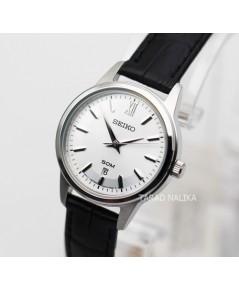 นาฬิกา SEIKO modern lady ควอทซ์ SUR891P1 สายหนัง