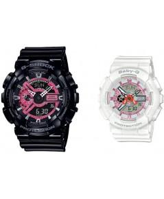 นาฬิกาคู่ G-Shock and Baby-G Special Pairs Collection 2019 SLV-19A-1ADR (ประกัน CMG)
