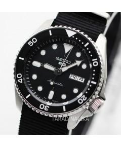 นาฬิกา SEIKO 5 Sports New Automatic SRPD55K3 (ฺ์Black) สายผ้า