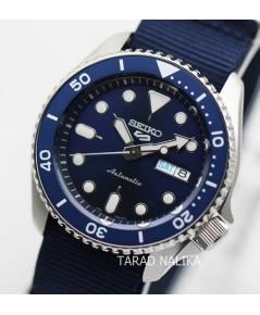 นาฬิกา SEIKO 5 Sports New Automatic SRPD51K2 (ฺ์Blue) สายผ้า