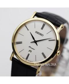นาฬิกา SEIKO Premier Classic Watch SKP396P1 เรือนทอง