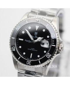 นาฬิกา Olym pianus sapphire submariner 899831G-430 King Size ขอบเซรามิค