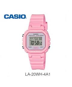 นาฬิกา casio digital lady LA-20WH-4A1DF  (ประกัน cmg)