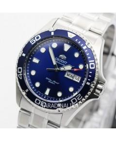 นาฬิกา Orient Diver\'s 200 m Automatic ORAA02005D ขอบน้ำเงิน