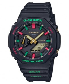 นาฬิกา CASIO G-Shock Carbon Core Guard GA-2100TH-1ADR (ประกัน CMG)