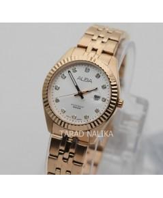 นาฬิกา ALBA modern ladies AH7T44X1 pinkgold
