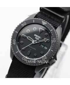นาฬิกา SEIKO 5 Sports New Automatic SRPD79K1 (Super Black) สายผ้า