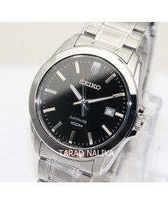นาฬิกา SEIKO ควอทซ์ sapphire Gent หรูเรียบ ภูมิฐาน SGEH49P1