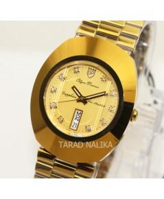 นาฬิกา Olym pianus Diastar sapphire 8217-406E เรือนทอง พลอย 10 เม็ด