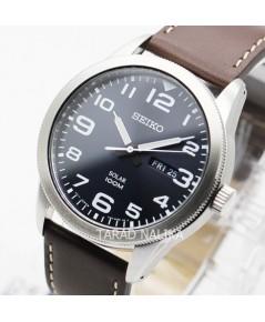 นาฬิกา SEIKO Solar SPORT Gent SNE475P1 สายหนัง
