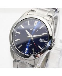 นาฬิกา SEIKO ควอทซ์ sapphire Gent หรูเรียบ ภูมิฐาน SGEH47P1