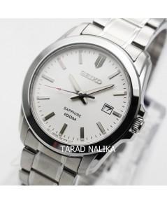 นาฬิกา SEIKO ควอทซ์ sapphire Gent หรูเรียบ ภูมิฐาน SGEH45P1
