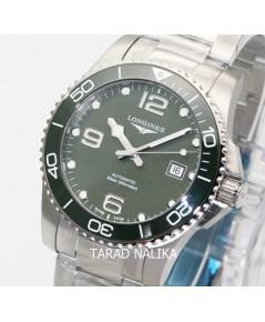 นาฬิกา Longines Hydro Conquest automatic ceramic L3.781.4.06.6 Green