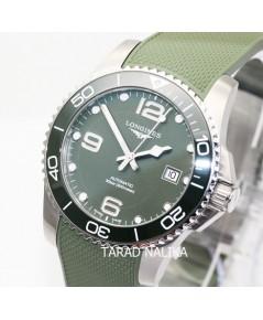 นาฬิกา Longines Hydro Conquest automatic ceramic L3.781.4.06.9 Green