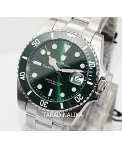 นาฬิกา Olym pianus Automatic submariner sapphire 899832AG-423 ขอบเซรามิคสีเขียว