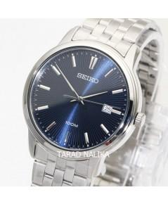 นาฬิกา SEIKO ควอทซ์ Gent SUR259P1 หน้าปัดน้ำเงิน
