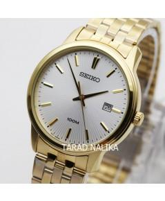 นาฬิกา SEIKO ควอทซ์ Gent SUR264P1 เรือนทอง