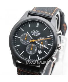 นาฬิกา ALBA Sport Chronograph Gent AT3G43X1 สายผ้า