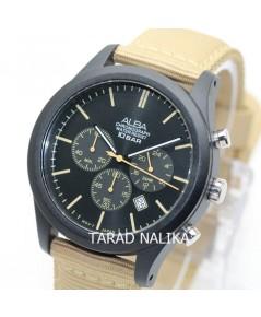 นาฬิกา ALBA Sport Chronograph Gent AT3G47X1 สายผ้า