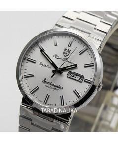 นาฬิกา Olym pianus sportmaster automatic sapphire 8909AM-434 หลักขีด