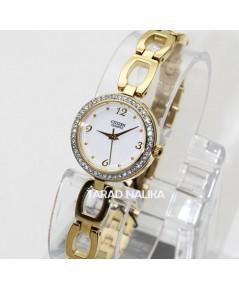 นาฬิกา Citizen crystal Lady EJ6072-55A เรือนทอง