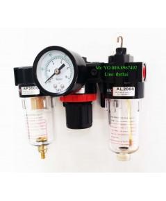ชุดกรองลมปรับแรงดัน Filter Regulator  F.R.L รุ่น AC2000