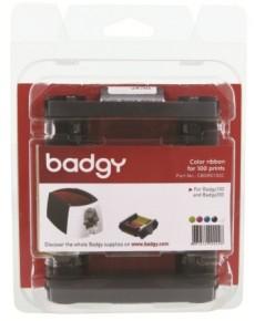 หมึกพิมพ์ + บัตรพลาสติก PVC ( ขนาด 0.76 ) 100 ใบ ใช้กับ เครื่องพิมพ์บัตร รุ่น Badgy100 , Badgy200
