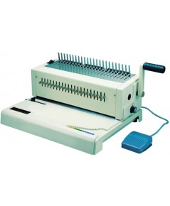 เครื่องเจาะกระดาษไฟฟ้าและเข้าเล่มแบบมือโยก รุ่น RIESA (รีซ่า)