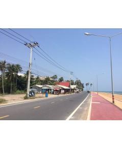 ขาย ที่ดินติดทะเล ติดถนนเลียบชายทะเล ปราณบุรี เกือบ 20 ไร่ ใกล้เอวาซอน เชอราตัน