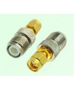 ADP-SM2TFR : SMA male to RP-TNC female adapter