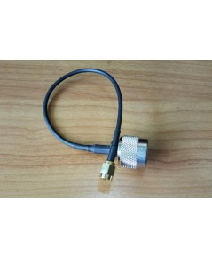 [LLC-N2SMA-0.2M] : Antenna cable N-Type male To RP-SMA male 20cm.