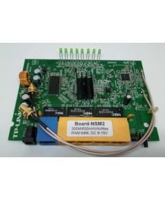Board-NSM2-64M : Wireless board UBNT จีน Fw. NanoStation M2 RAM 64M--- 300M/630mW