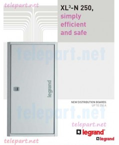 Product legrand DISTRIBUTION BOARDS