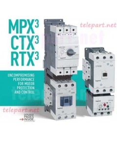 Product legrand MOTOR BREAKER MAGNETIC CONTACTOR AND OVERLOAD RELAY