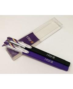 ชุดปากกา Aero หมีกสีดำกับหมึกสีน้ำเงิน
