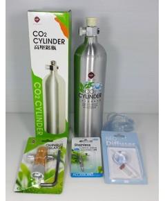 ชุดถังคาร์บอน UP พร้อมอุปกรณ์ครบชุด สำหรับเลี้ยงไม้น้ำในตู้ปลา