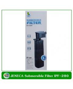 ปั้มน้ำพร้อมกระบอกกรองในตู้ Jeneca IPF-280 สำหรับตู้ปลาขนาด 30-36 นิ้ว