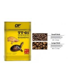 Pro Terrapins and Turtle TT-G1 อาหารเต่า ตะพาบ เกรดพรีเมี่ยม OF OCEAN FREE 120 g. (เม็ดขนาด