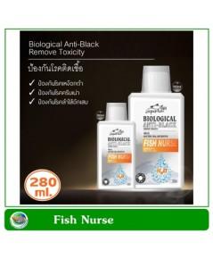 Biological Anti-Black Fish Nurse 280 ml. แบคทีเรีย ป้องกันโรคเหงือกดำ ครีบเน่า ลำไส้อักเสบ