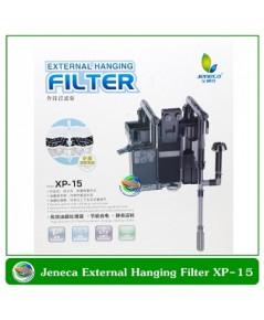 Jeneca กรองแขวนตู้ปลา External Hanging Filter XP-15 สำหรับตู้ปลาขนาด 16-24 นิ้ว กำจัดฟิล์มที่ผิวน้ำแ