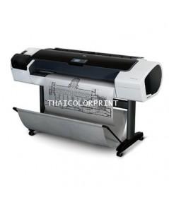 พล๊อตเตอร์ มือสอง Designjet T1200 44 นิ้ว  ติดแท็งค์ได้ หมึกลิตรละ 950 บาท มือสอง