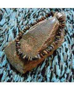 ลูกปัดกำไล่ข้อมือกระดูกไดโนเสาร์ (Dinosaur Bone Gem Beads)