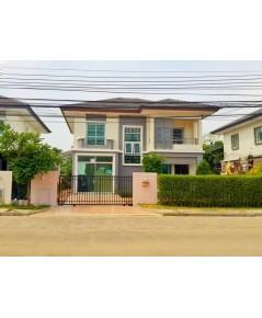 บ้านเดี่ยวให้เช่าถูก ม.พฤกษาวิลเลจ ซีนเนอรี่ รัตนาธิเบศร์-บางใหญ่ ใกล้BTS Central Westgate(บางใหญ่)