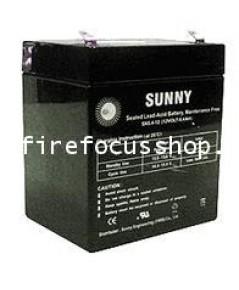 แบตเตอรี่แห้งชนิดตะกั่วกรดขนาด 12V-5AH ยี่ห้อ Sunny