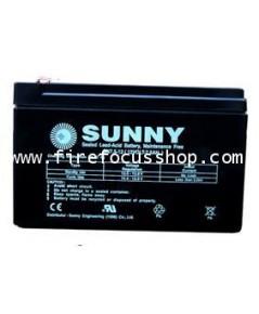 แบตเตอรี่แห้งชนิดตะกั่วกรดขนาด 12V-7AH ยี่ห้อ Sunny